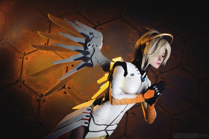 aC2BJbU Cosplay - Overwatch - Mercy #142