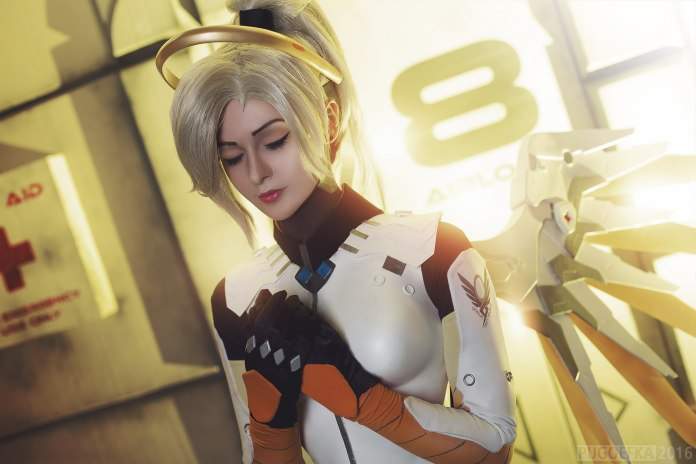 aswVgdL Cosplay - Overwatch - Mercy #142