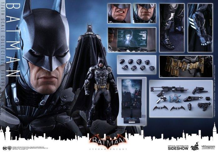 dc-comics-batman-arkham-knight-sixth-scale-hot-toys-902934-25 Figurine – Batman – Arkham Asylum – Hot Toys