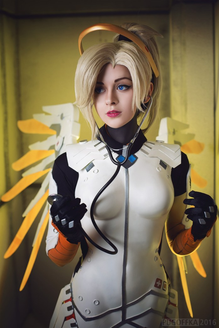 tumblr_okaww0bWpt1r5udeko2_1280 Cosplay - Overwatch - Mercy #142