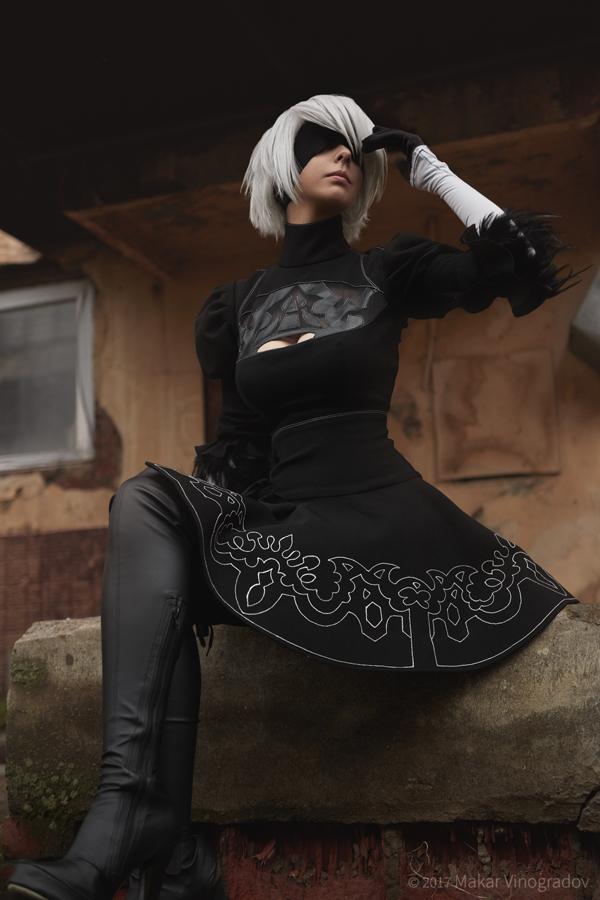 nier__automata__yorha_no_2_type_b__aka_2b__cosplay_by_disharmonica-db03kck Cosplay - NieR Automata #145