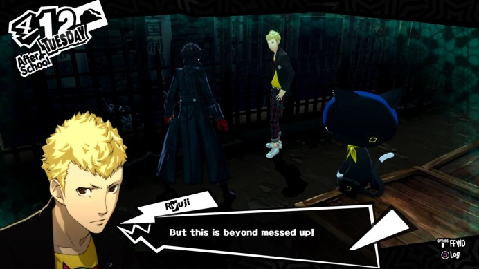 Persona-5-dial-1 Test - Persona 5 - PS4