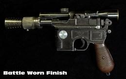 Star-Wars-Han-Solo-Blaster-Replica-5 Star Wars - Une réplique du DL-44 de Han Solo chez Todds