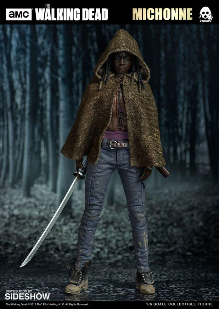 amc-the-walking-dead-michonne-sixth-scale-threezero-902991-01 Figurine - The Walking Dead - Michonne et ses rôdeurs