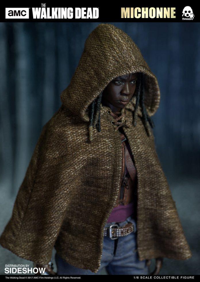 amc-the-walking-dead-michonne-sixth-scale-threezero-902991-03 Figurine - The Walking Dead - Michonne et ses rôdeurs