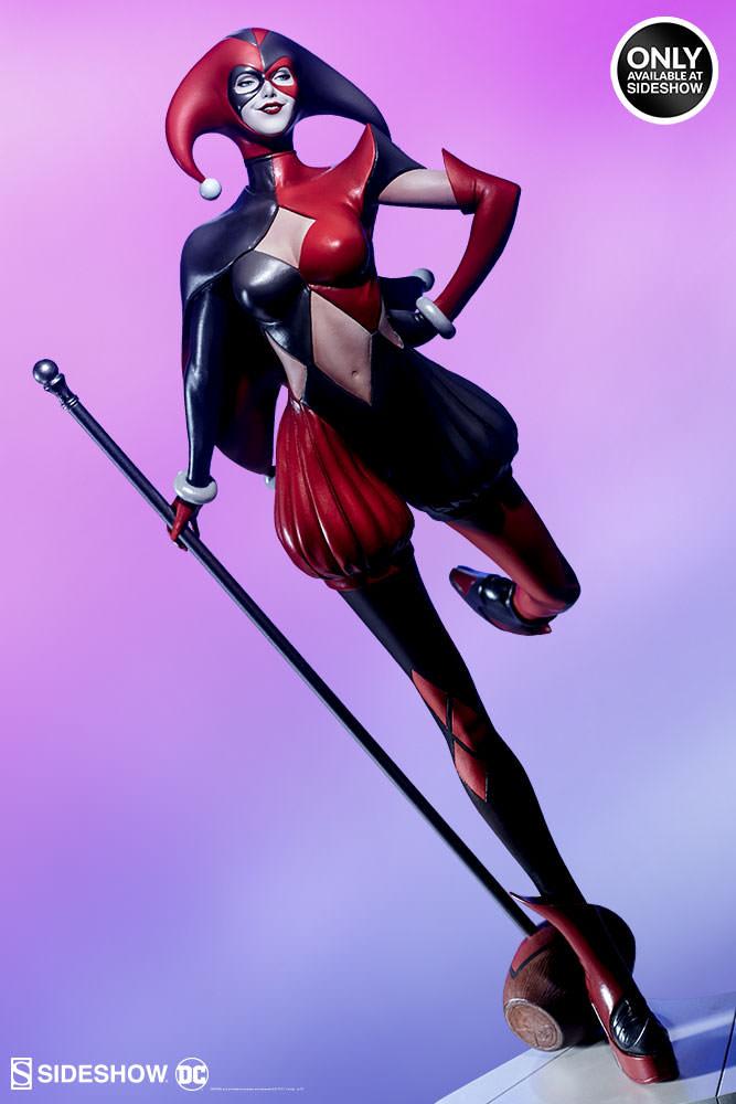 dc-comics-harley-quinn-stanley-artgerm-lau-artist-series-statue-200430-02 Figurines - Harley Quinn - Catwoman et Poison Ivy vues par Artgerm