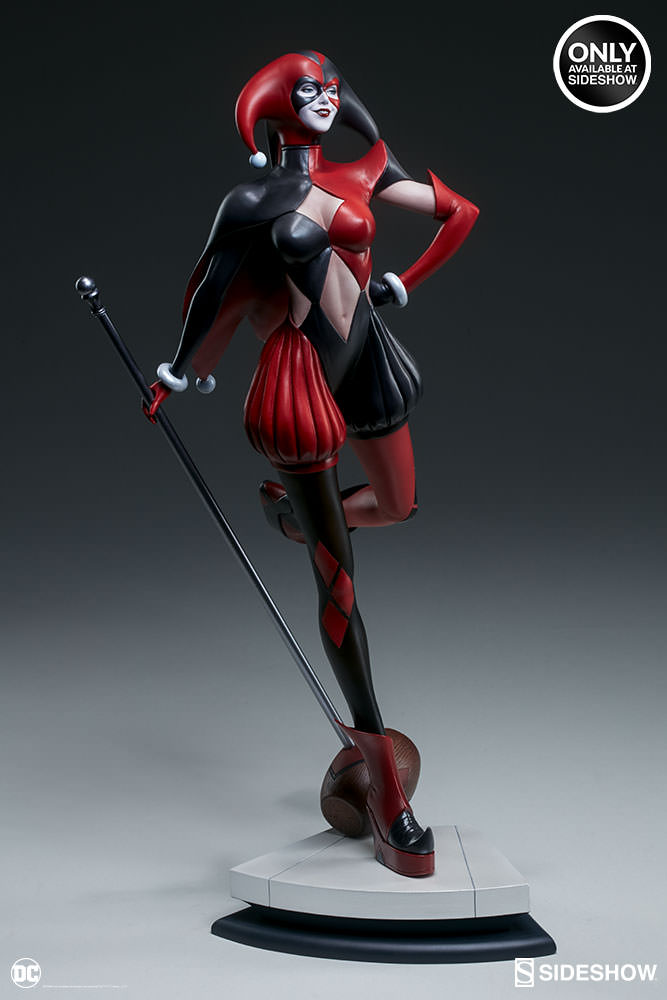dc-comics-harley-quinn-stanley-artgerm-lau-artist-series-statue-200430-08 Figurines - Harley Quinn - Catwoman et Poison Ivy vues par Artgerm