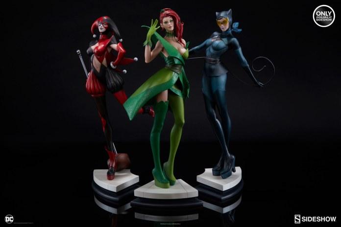 dc-comics-poison-ivy-stanley-artgerm-lau-artist-series-statue-200429-18 Figurines - Harley Quinn - Catwoman et Poison Ivy vues par Artgerm