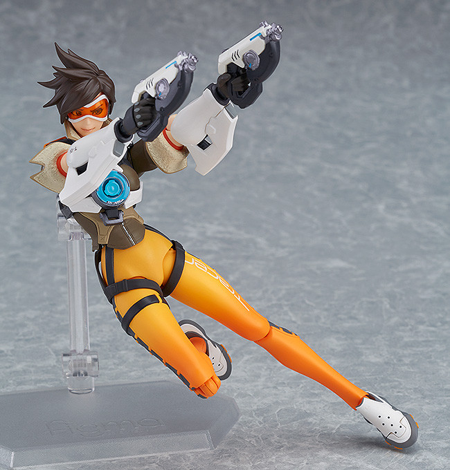 Figurine-tracer-overwatch-4 OverWatch - Une figurine Figma Tracer par Good Smile Company
