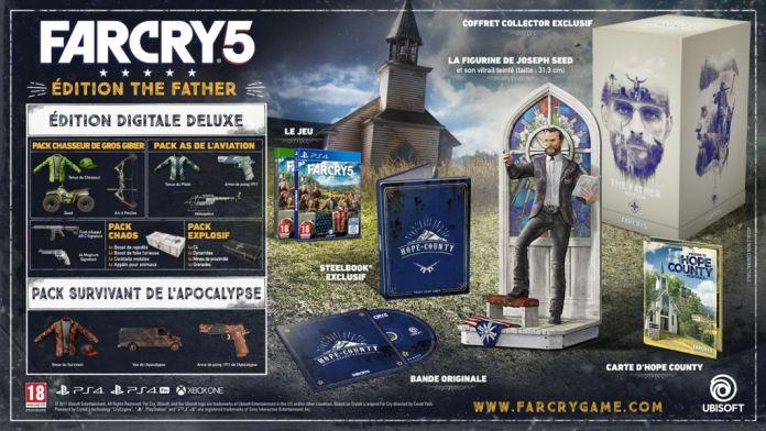 far-cry-5-collector-3-696x392 Far Cry 5 présente ses collector