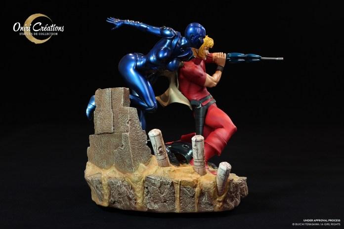 cobra-the-space-pirate_005-696x464 Oniri Créations et sa magnifique figurine Cobra