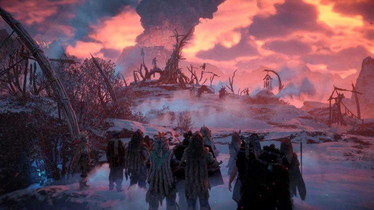 Horizon-Zero-Dawn-The-Frozen-Wilds-Rassemblement The Frozen Wilds - Mon avis sur l'extension de Horizon Zero Dawn