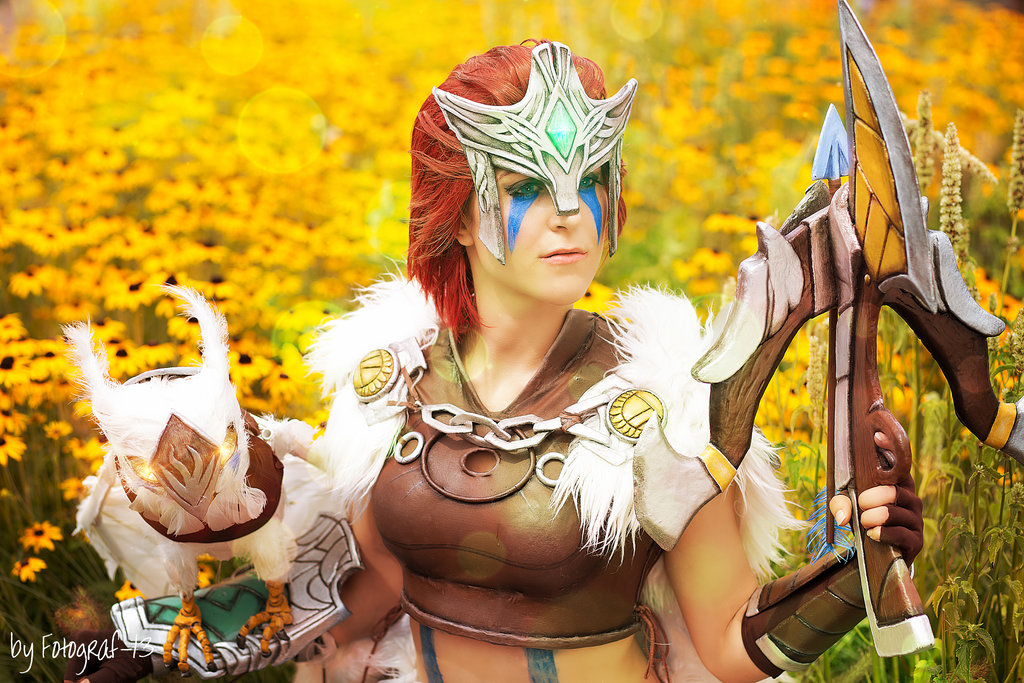 woad_scout_quinn__there_s_always_a_trail_by_mowkycosplay-d7tynzv MICM 2018 - Présentation de Mowky Cosplay (Magic 2018) #13