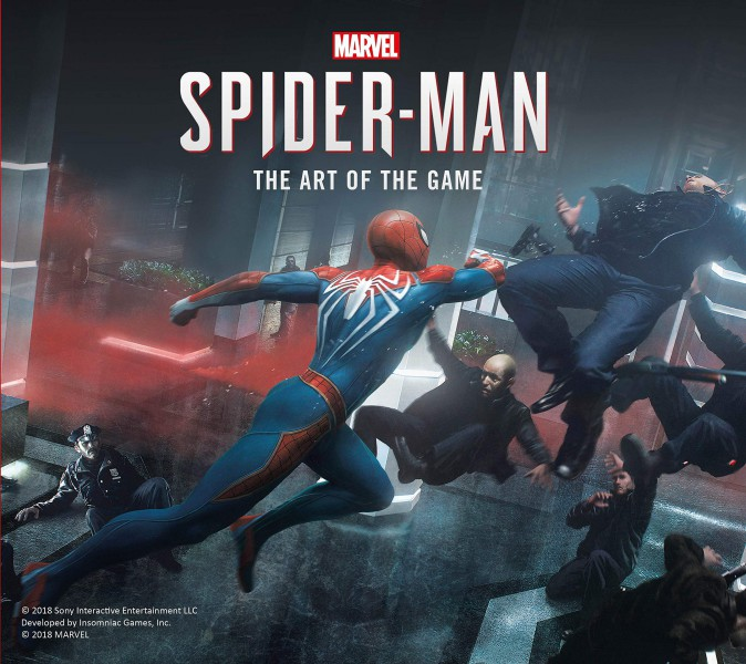 artbook-marvel-spider-man-ps4-674x600 Un peu de lecture avant la sortie de SpiderMan sur PS4