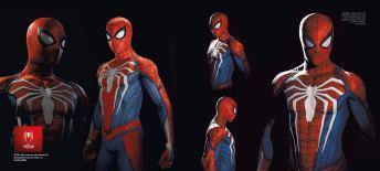 artbook-marvel-spider-man-ps4-page-2 Un peu de lecture avant la sortie de SpiderMan sur PS4