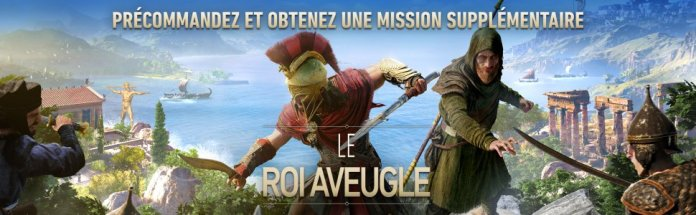 aco-roi-aveugle Assassin's Creed Odissey - Les éditions spéciales et collector