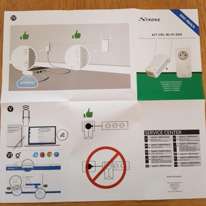 wp-1529218276437. Présentation du kit CPL Wifi 500 de Strong
