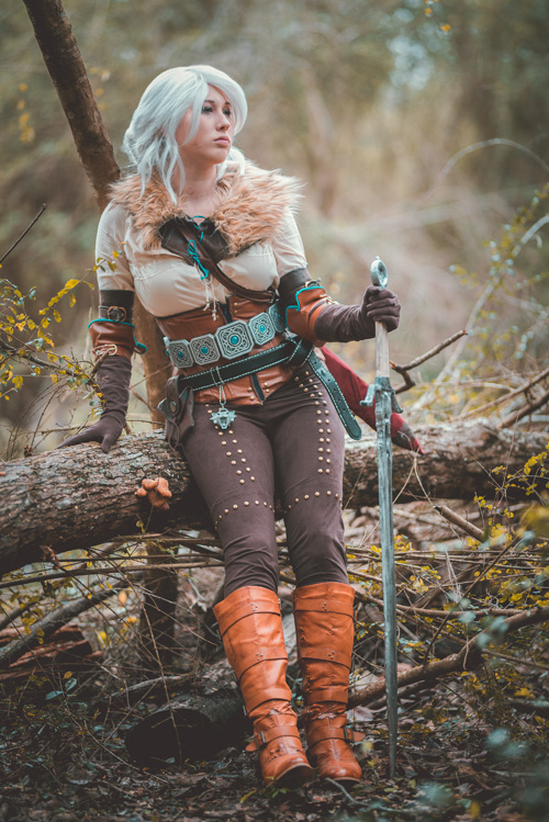 ciri-cosplay-02 Cosplay - The Witcher 3 - Ciri #155