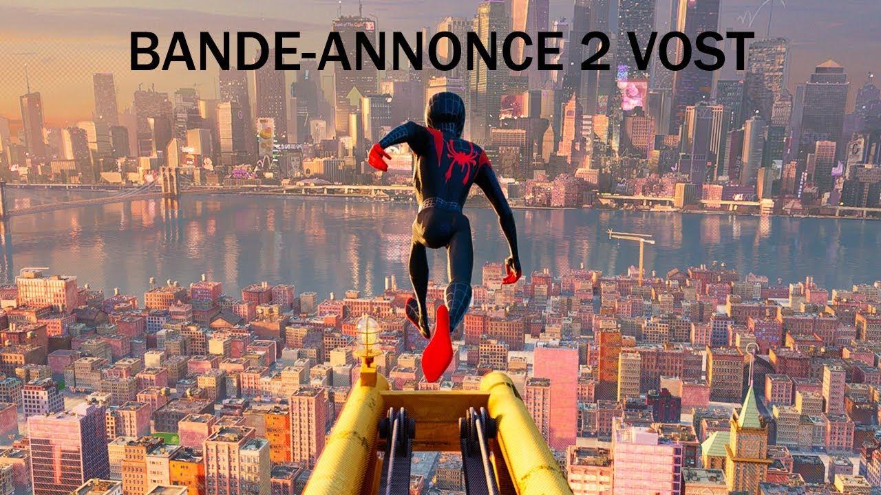 spiderman  new generation  nouvelle bande annonce