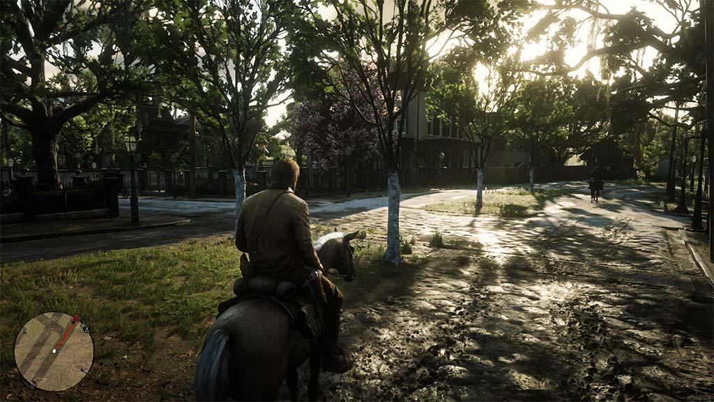 arbres_boue Mon avis sur Red Dead Redemption II - Paré pour la grande épopée ?