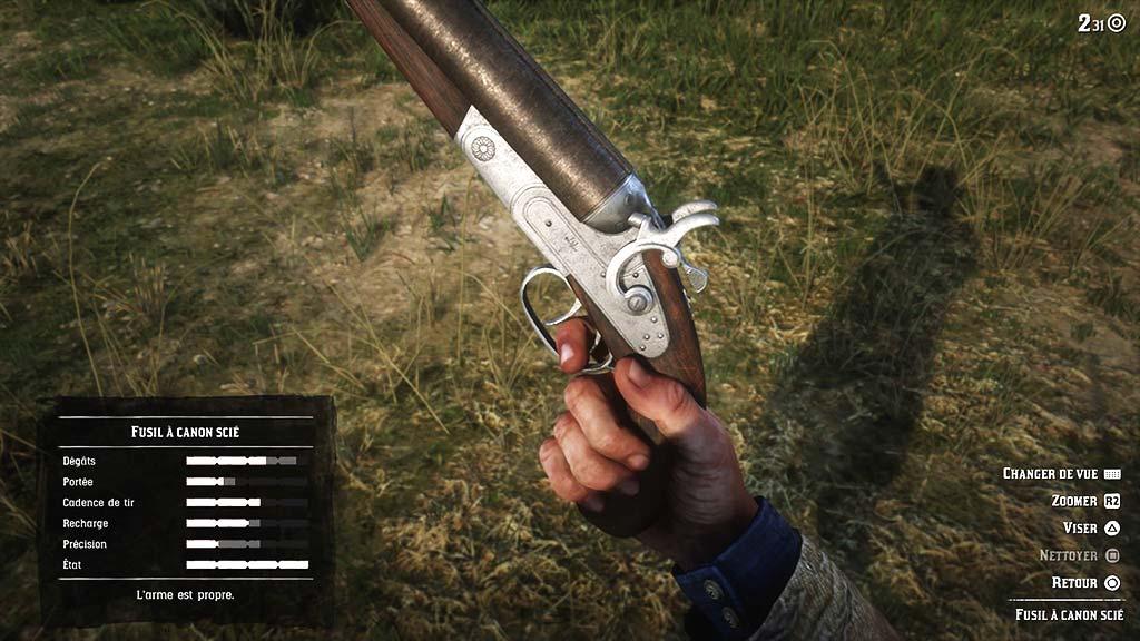 arme_nettoyer Mon avis sur Red Dead Redemption II - Paré pour la grande épopée ?