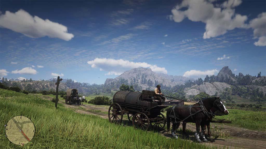 paysage_herbe Mon avis sur Red Dead Redemption II - Paré pour la grande épopée ?