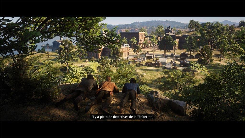 planque_pinkerton Mon avis sur Red Dead Redemption II - Paré pour la grande épopée ?