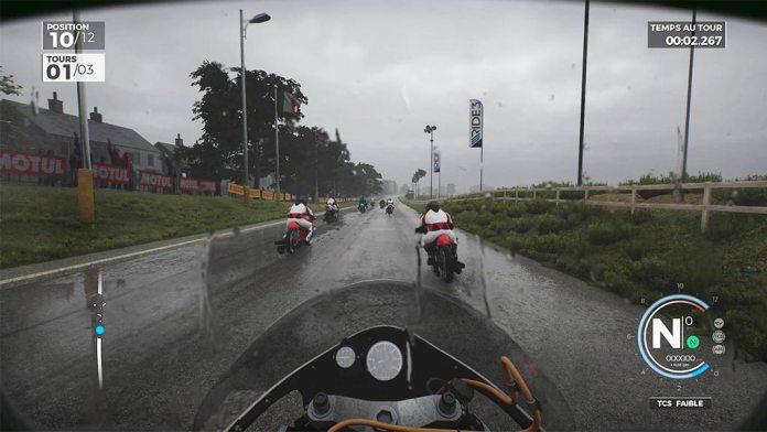 course_pluie_guidon Mon avis sur Ride 3 - Un opus fracassant, enfin !