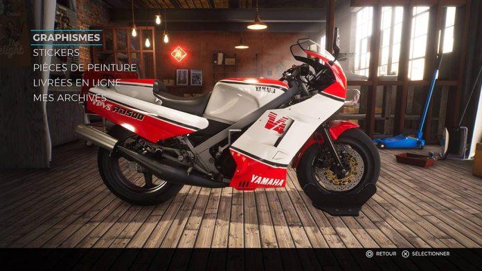 menu_perso_moto Mon avis sur Ride 3 - Un opus fracassant, enfin !
