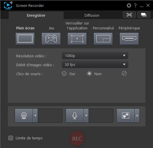 screen-recorder-1 Présentation de Screen Recorder de Cyberlink