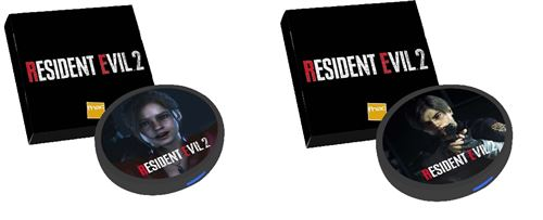 Chargeur-portable-a-induction-Resident-Evil-2-Modele-aleatoire Resident Evil 2 - Récap des précommandes (dès 40€)