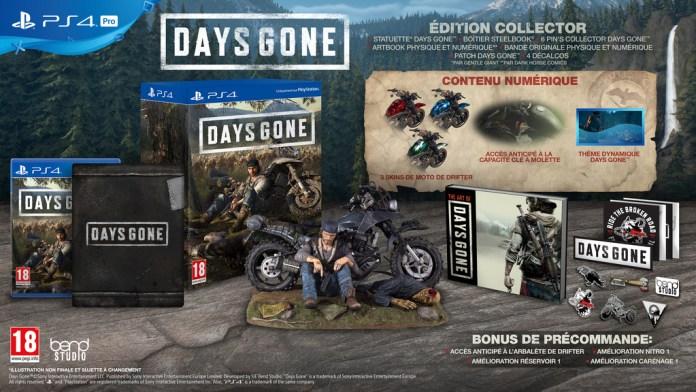 days_gone_collector-1024x576 Days Gone - Les éditions Collector et Spéciales (Préco Ouvertes)