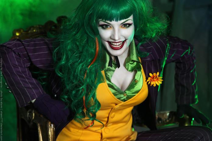 Female-Joker-cosplay-11-by-HydraEvil_499031433-1 Cosplay - The Joker - DC Comics #171