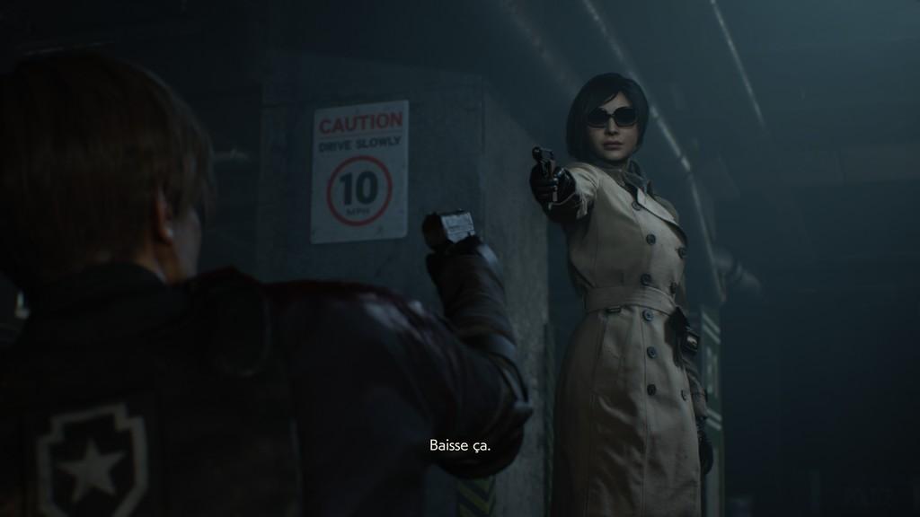RE2_Ada-1024x576 Mon avis sur Resident Evil 2 Remake - Le cauchemar renaît