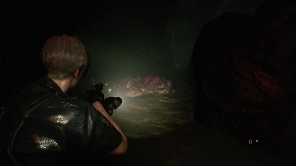 RE2_ViseePrecis-1024x576 Mon avis sur Resident Evil 2 Remake - Le cauchemar renaît