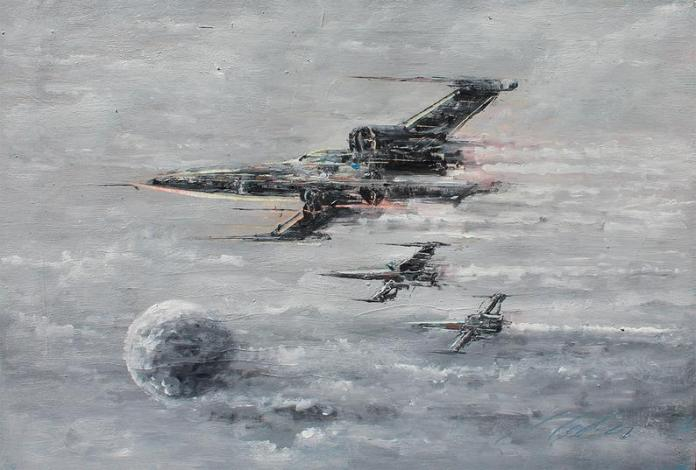 star-wars-paintings-04 May The 4th Be With You