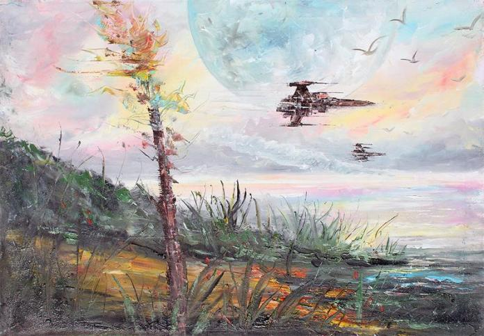 star-wars-paintings-08 May The 4th Be With You