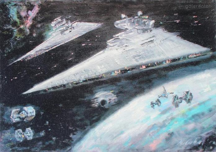 star-wars-paintings-10 May The 4th Be With You