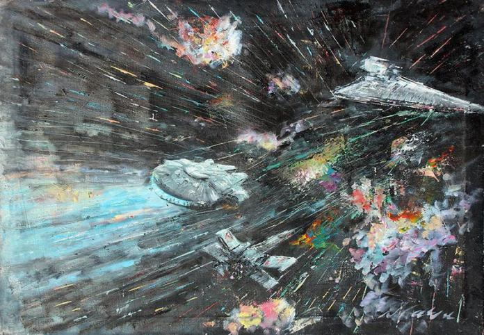 star-wars-paintings-11 May The 4th Be With You