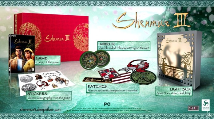 collector-edition-shenmue-3 Shenmue III- L'édition Collector