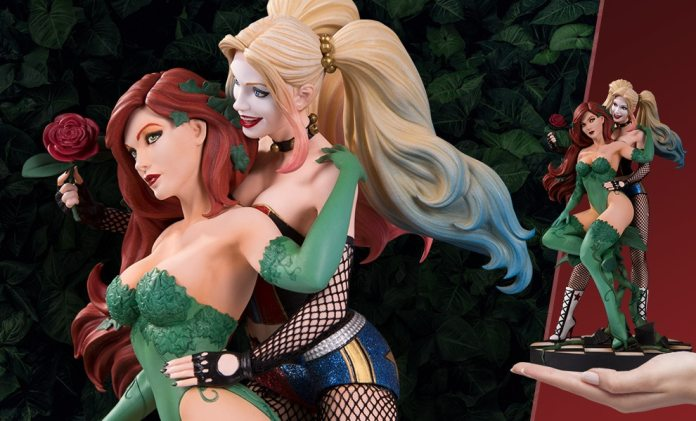 harley-quinn-poison-ivy_dc-comics_feature Figurine - Harley Quinn & Poison Ivy