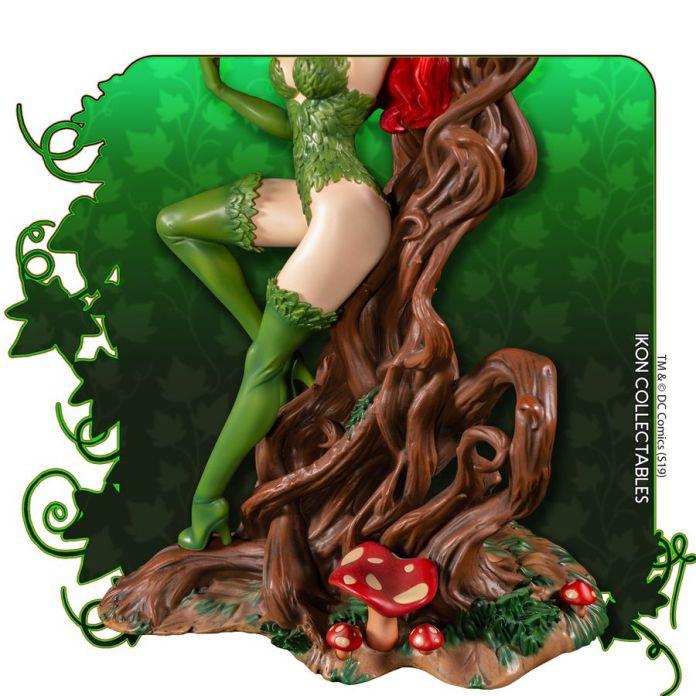 IKO1049-Poison-Ivy-Statue-12 Figurine - Poison Ivy et la fleur tueuse