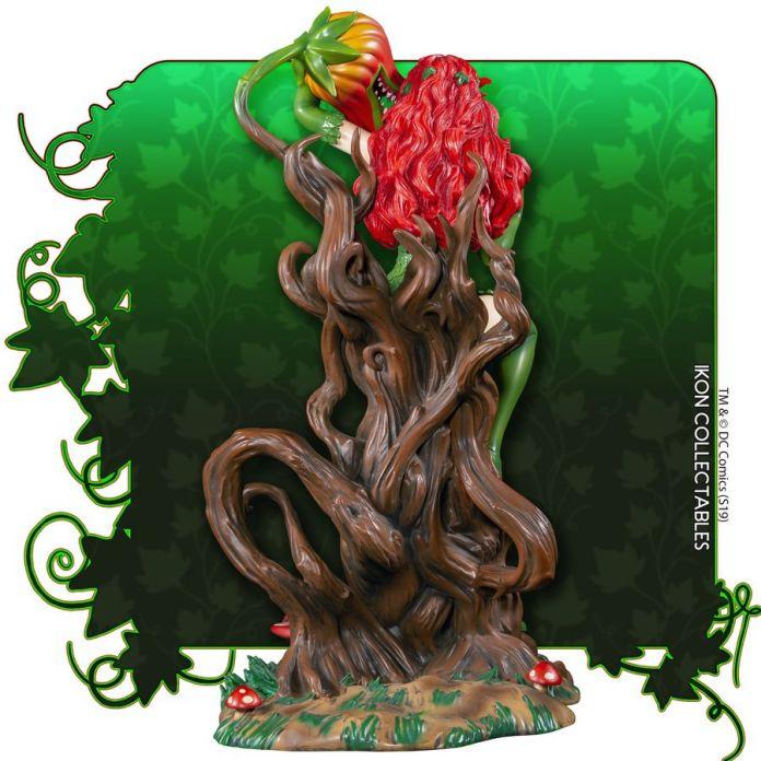IKO1049-Poison-Ivy-Statue-5 Figurine - Poison Ivy et la fleur tueuse