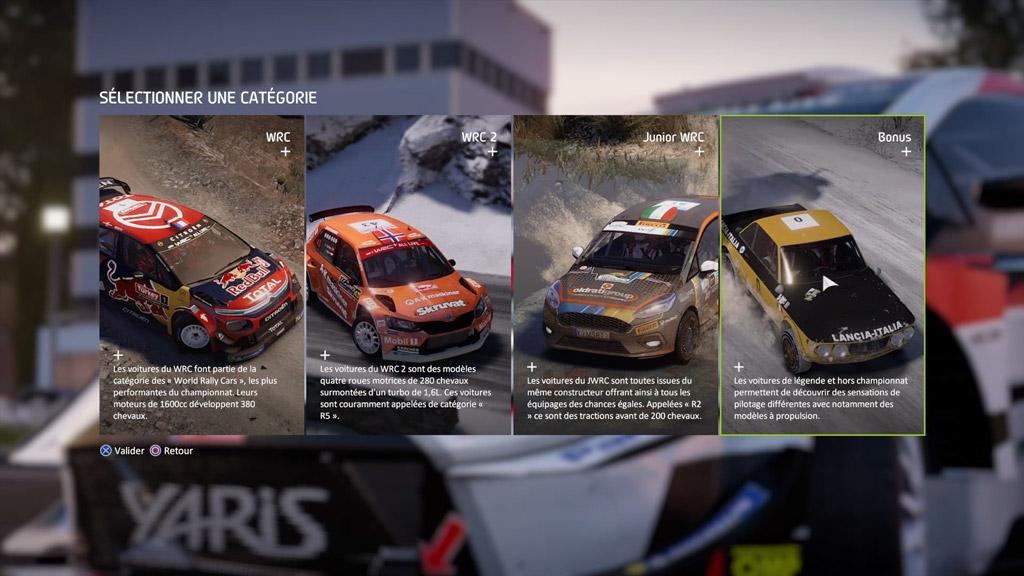 contenu_jeu_categorie_voiture-1024x576 Mon avis sur WRC 8 – Le challenger est là !