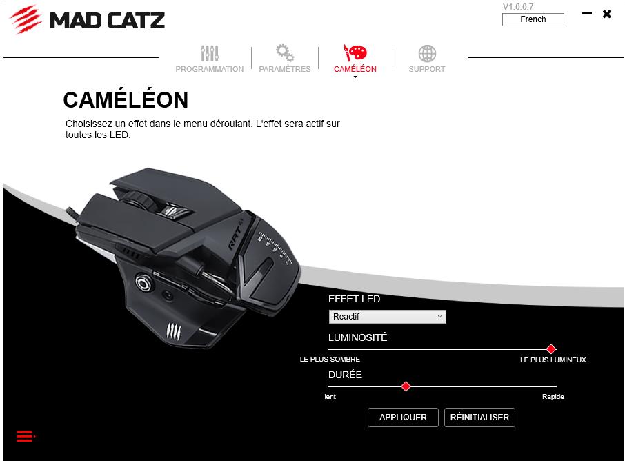 image-2 Présentation de la souris gaming R.A.T 4+ de Madcatz