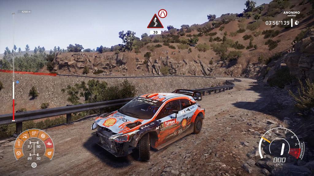 voiture12-1024x576 Mon avis sur WRC 8 – Le challenger est là !