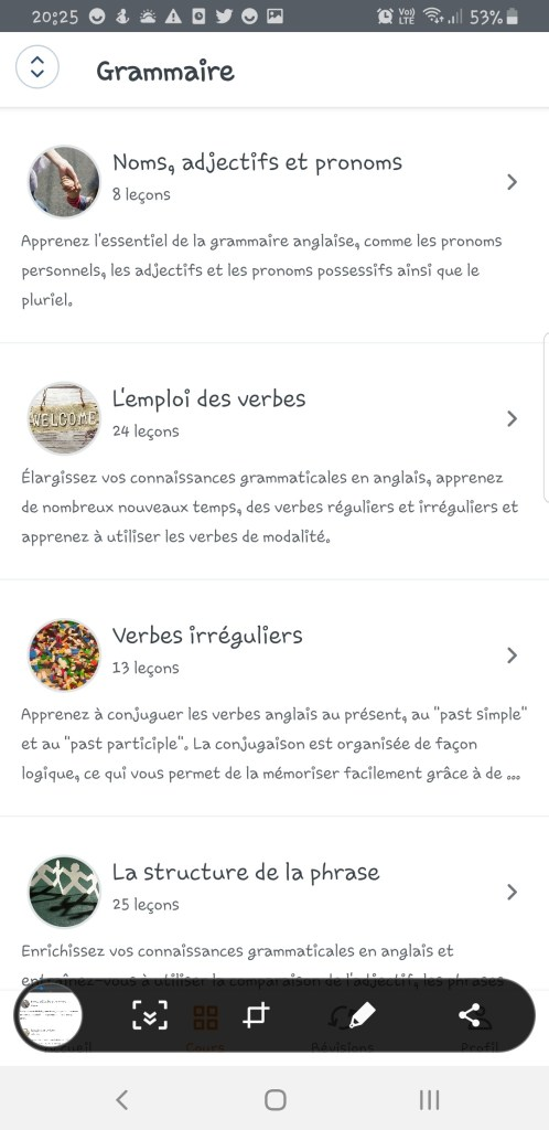 Screenshot_20191128-202554_English-498x1024 Babbel - Ou apprendre l'anglais sur son smartphone