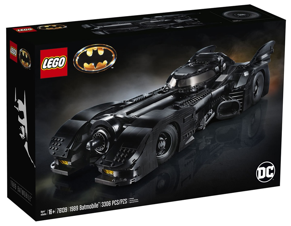 lego-batman-1989-batmobile Lego - Une réplique de la Batmobile des films de Tim Burton (1989)