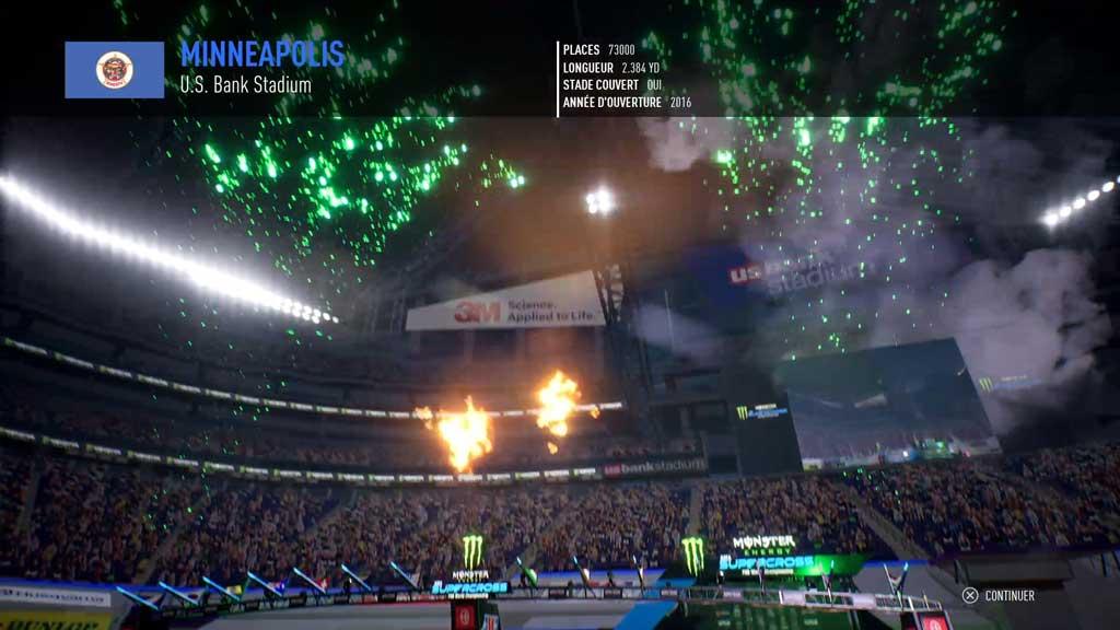 circuitII Mon avis sur Monster Energy Supercross 3 - Attention à la chute !