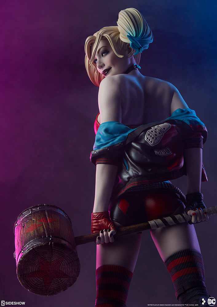 harley-quinn-hell-on-wheels_dc-comics_gallery_5e30bbadf3de2 Figurine - Harley Quinn en roller par SideShow